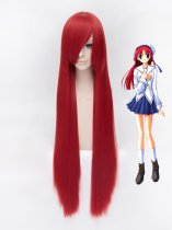 Da Capo Kotor Shirakawa Red Cosplay Wig