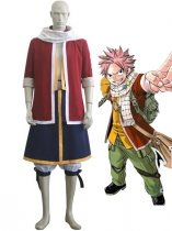 Fairy Tail Natsu Dragneel Cosplay Show Costume
