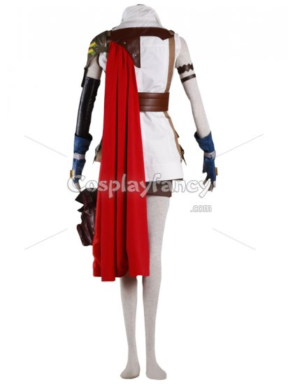 Final Fantasy XIII Cosplay Cool Lightning Cosplay Costume - Click Image to Close