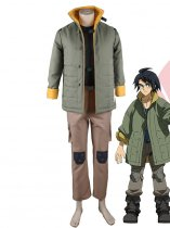 Mobile Suit Gundam: Iron-Blooded Orphans Tekkadan Mikazuki Augus Uniform Cosplay Costume