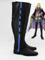 Tales of Graces Richard Black & Blue Cosplay Boots