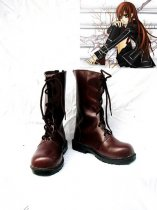Vampire Knight Cosplay Shoes Kuran Yuuki Brown Leather Boots