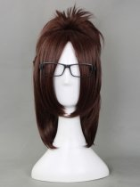 Attack on Titan Cosplay Hanji Zoe Cosplay Wig