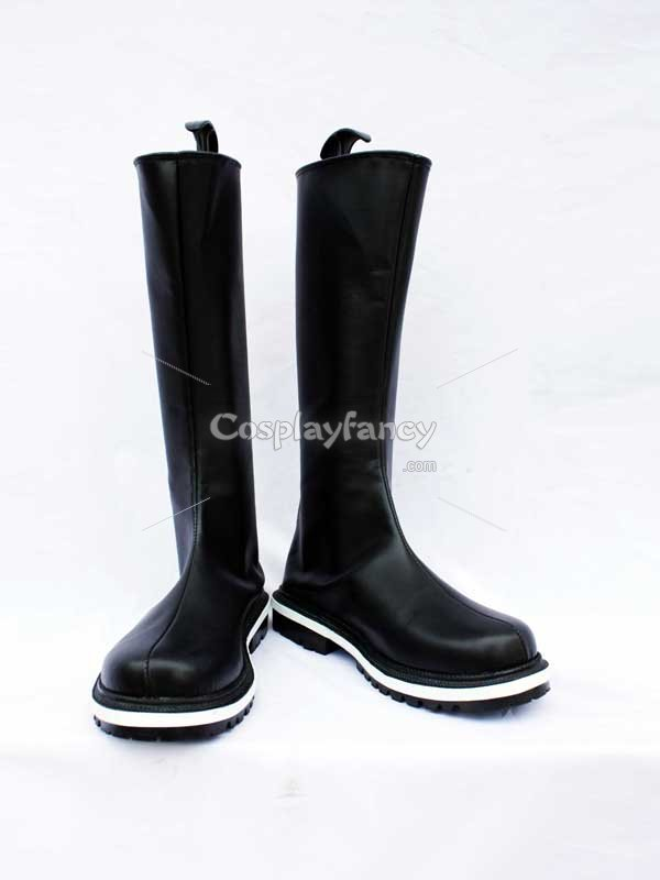 Final Fantasy VII Cosplay Shoes Kadaj Black Cosplay Boots