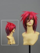 No Game No Life Gamechanger Sora Red Short Cosplay Wig