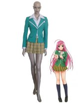 Rosario and Vampire Moka Akashiya School Uniform Cosplay Costume