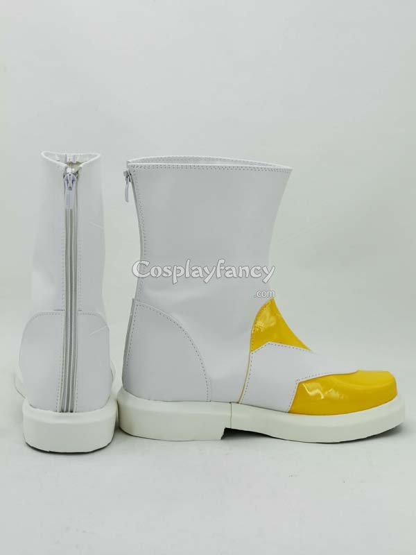 Tales of Symphonia Zelos Wilder White & Yellow Cosplay Boots