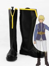 Tales of Vesperia The First Strike Flynn Scifo Black Cosplay Boots