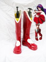 The King of Fighters KOF Cosplay Athena Asamiya Cosplay Shoes