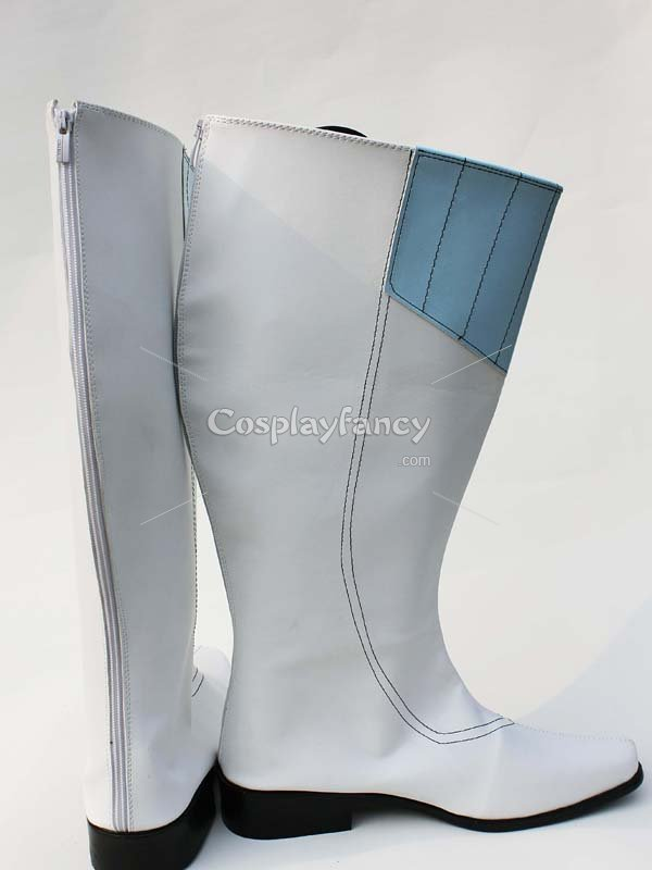 Unlight The Sinister Belinda White & Blue Cosplay Boots