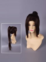Dynasty Warriors 6 Zhao Yun / Chou Un Cosplay Wig