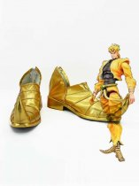 JOJO Cosplay Dio Brando Golden Cosplay Shoes