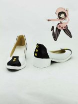 JoJo's Bizarre Adventure Black & White Cosplay Shoes