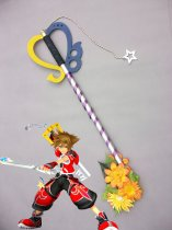 Kingdom Heart Wood Sora' Keyblade Cosplay Sword