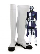 Mobile Suit Gundam: Iron-Blooded Orphans Vidar White Cosplay Boots