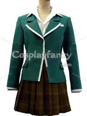 Rosario and Vampire Moka Akashiya Cosplay Costume/Uniform