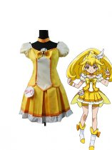 Smile Pretty Cure Yayoi Kise/Cure Peace Cosplay Costume
