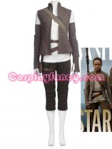 Star Wars: The Last Jedi Costume Rey Cosplay Costume