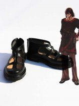 Drag-on Dragoon 2 Cosplay Caim Black Cosplay Shoes