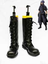 Final Fantasy Versus XIII Noctis Lucis Caelum's Cool Black Lace Up Leather Cosplay Boots