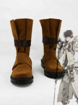 Log Horizon Shiroe Brown Cosplay Boots