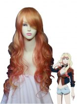Macross Frontier Cosplay Sheryl Nome's Blond Hair Cosplay Wig