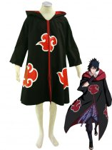 Naruto Cosplay Uniform Cloth Akatsuki Overcoat Cosplay Costume