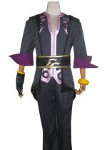 Tales of Symphonia Cosplay Costume Black and Purple Costume