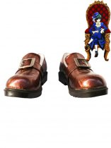 Black Butler Cosplay Ciel Brown Cosplay Leather Shoes
