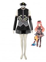 Black & Grey Tales of the Abyss Arietta the Wild Cosplay Costume