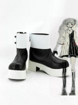 Dangan Ronpa Black & White Monokuma Female Cosplay Boots