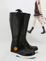 Guilty Crown Cosplay Inori Yuzuriha Artificial Leather Cosplay Boots