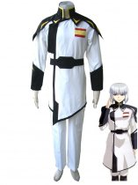 Gundam Seed-ZAFT White Military Uniform Cosplay Costume
