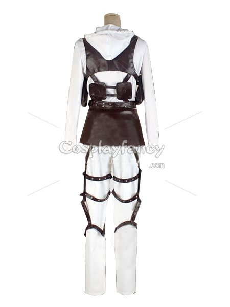 Attack on Titan Annie Leonhardt Cosplay Costume Military Police Brigade Uniform