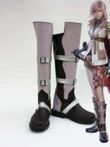 Cosplay Shoes Final Fantasy XIII Lightning Buckled Cosplay Shoes