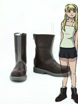 Fullmetal Alchemist Cosplay Winry Rockbell Cosplay Boots