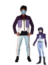 Gundam 00 Cosplay Tieria Erde Suit Cosplay Costume