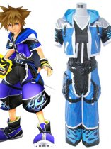 Kingdom Hearts II Sora Wisdom Form Riku Cosplay Costume