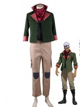Mobile Suit Gundam: Iron-Blooded Orphans Tekkadan Orga Itsuka Leader Uniform Cosplay Costume
