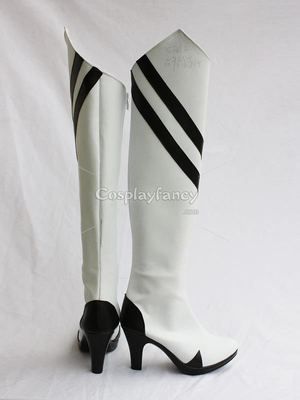 Neon Genesis Evangelion Cosplay Rei Ayanami White Cosplay Boots