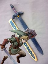 The legend of Zelda Link Cosplay Wood Sword