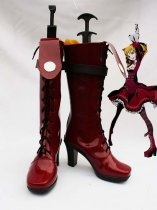 Unlight ScarletQueen Donita Red Cosplay Boots