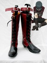 Black Butler Cosplay Ciel Fancy Red & Black Cosplay Shoes