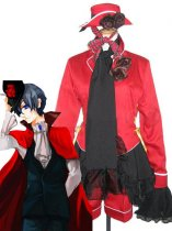 Black Butler Cosplay Ciel Red And Black Ciel Cosplay Costume