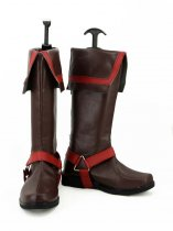D Gray-Man Allen Walker Brown Anime Cosplay Boots