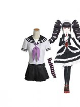 Dangan Ronpa Celestia Ludenberg Uniform Cosplay Costume