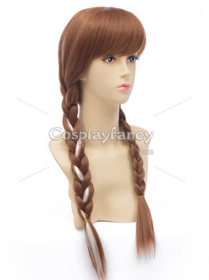 Frozen Princess Anna of Arendelle Cosplay Wig - Click Image to Close