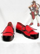 Guilty Gear XX Sol Badguy Cosplay Shoes