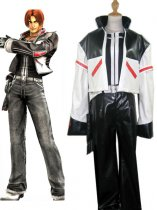 King of Fighter Kyo Kusanagi Leather Cosplay Costume