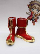 MapleStory Cosplay Red Cosplay Show Shoes